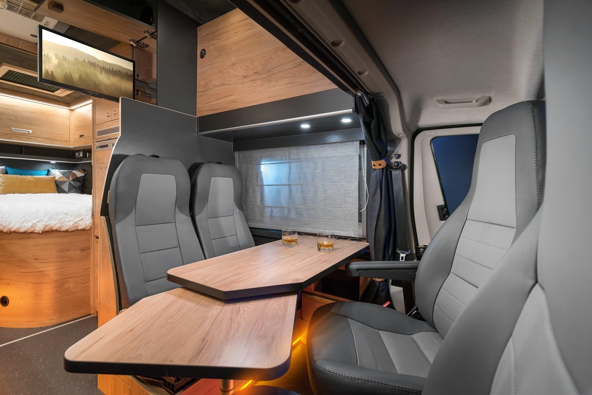 X Layout Interior